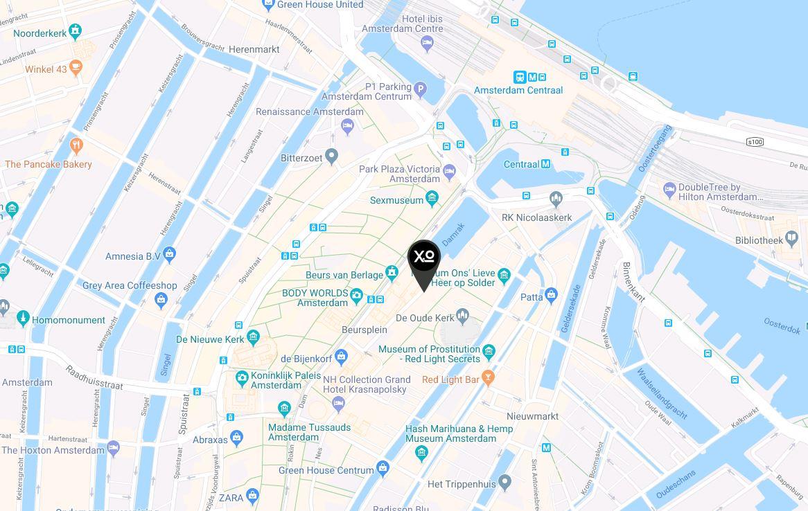 Standort und Anfahrtsbeschreibung zum XO Hotels City Centre
